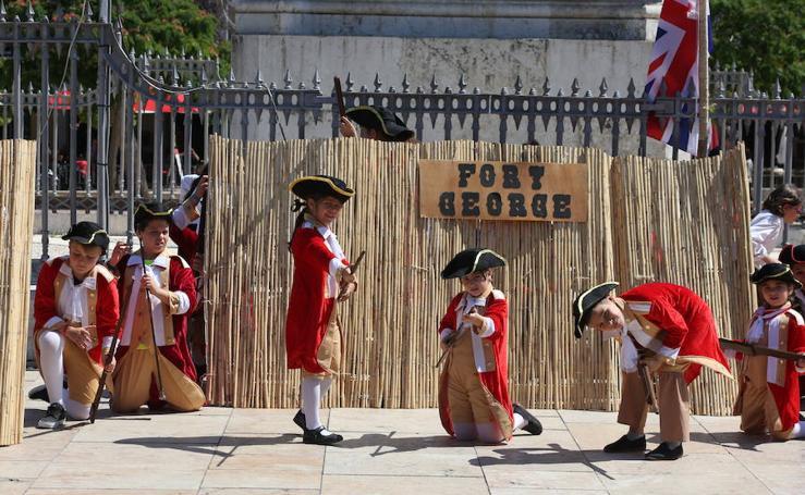 La Batalla de Pensacola se repite más de dos siglos después en Málaga