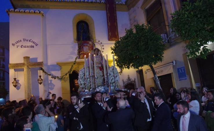 El Rocío abre los traslados de la Magna de Málaga