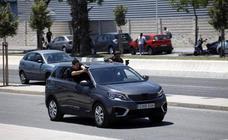 'La reina del sur' se graba en Málaga