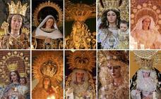 Todas las Vírgenes de la procesión magna de Málaga 2018, al detalle