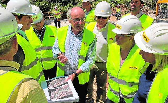 La conexión de Carvajal con las urbanizaciones estará lista en un año