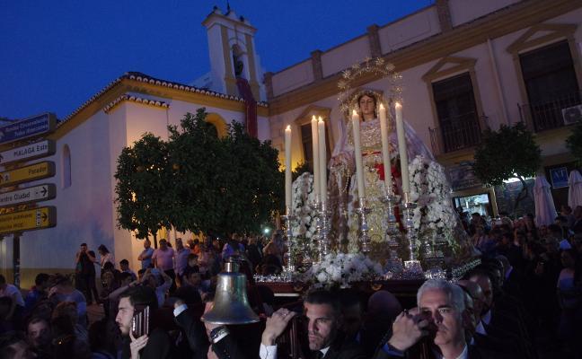 Traslado de la Virgen a la casa hermandad