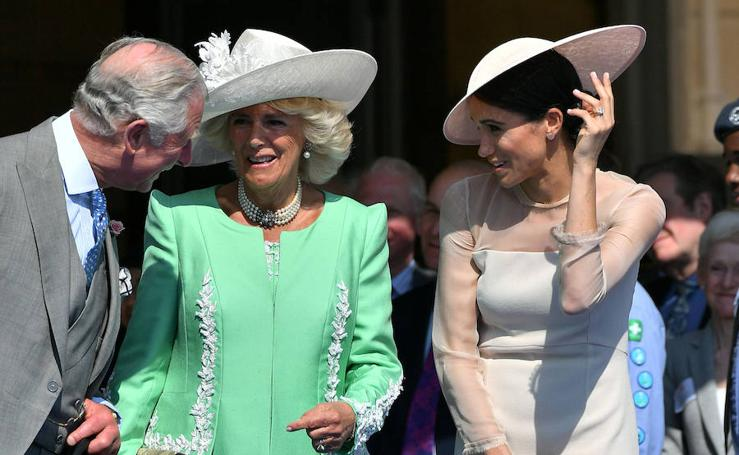 Meghan Markle debuta como duquesa de Sussex