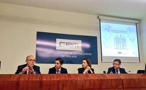 La CEM desarrolla un programa para conocer las demandas formativas de las empresas de Málaga