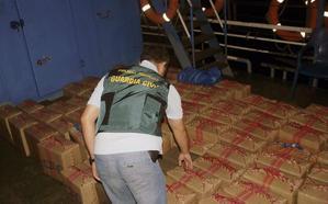 Detenidas en Andalucía 17 personas de una red internacional de tráfico de hachís