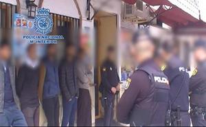 Cae en Málaga una banda dedicada a explotar laboralmente a inmigrantes en situación irregular