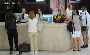 Los hoteles de la provincia de Málaga incrementan un 1,4% los viajeros alojados en lo que va de año