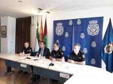 El subdelegado del Gobierno y el comisario insisten en que Málaga es una provincia segura