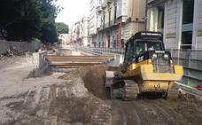 El metro empieza a excavar el túnel de la Alameda bajo tierra