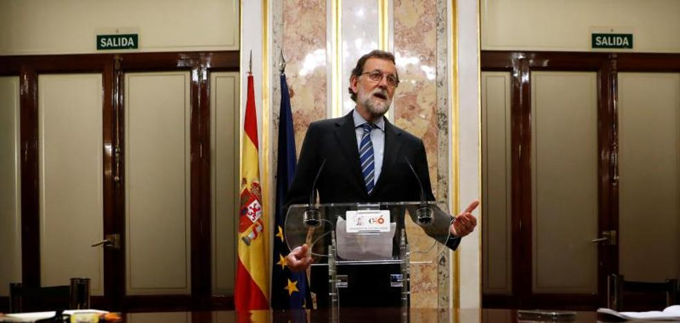 Rajoy reclama a Torra un Gobierno «normal» antes de concertar una reunión