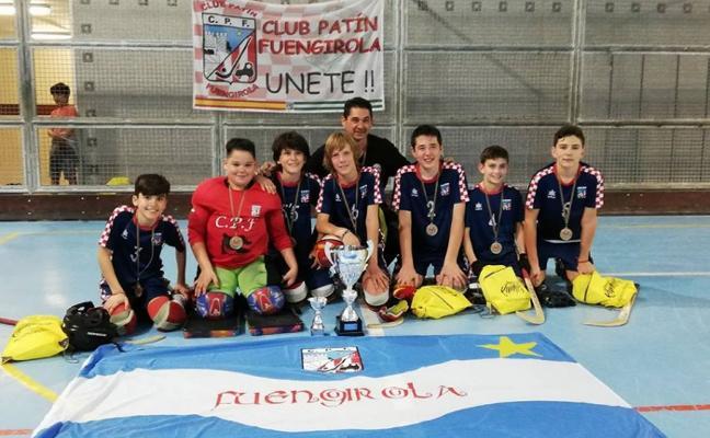 Los alevines del Fuengirola se llevan un torneo en el País Vasco