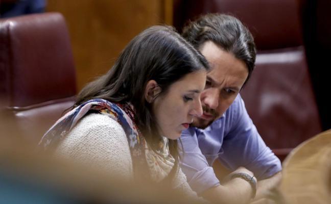 La dirección de Podemos se vuelca para apoyar el sí a Iglesias y Montero