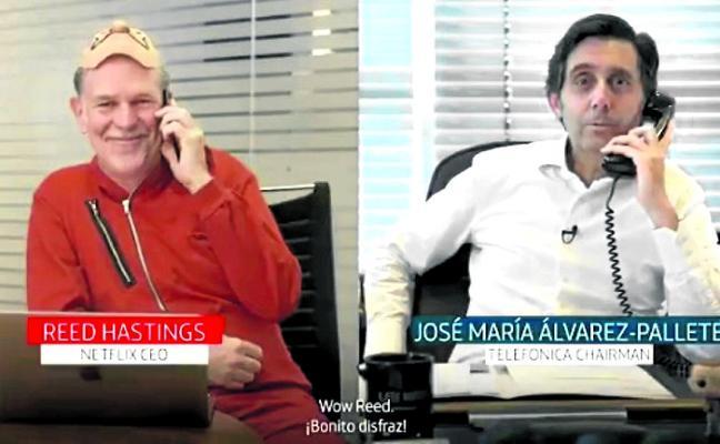 Movistar emitirá las series de Netflix