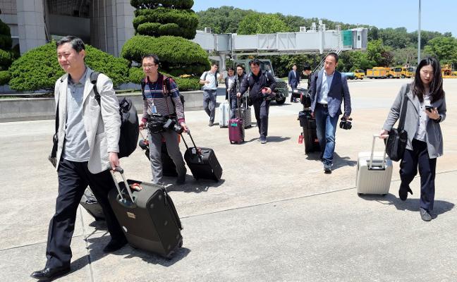 Corea del Norte vuela su centro de pruebas nucleares