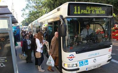 Los jubilados que cobren hasta 800 euros al mes viajarán gratis en la EMT a partir del 1 de junio