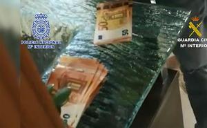 Una veintena de detenidos en Málaga y Sevilla por tráfico de droga y contrabando de tabaco