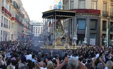 Lo mejor de la Procesión Magna de la Victoria 2018 en Málaga