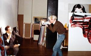 Un malagueño en la corte del rey Warhol