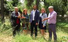 Dani Pérez pide que el Jardín de La Cónsula se mejore y se abra el fin de semana