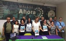 Málaga Ahora decidirá a final de año si se presenta a las elecciones municipales