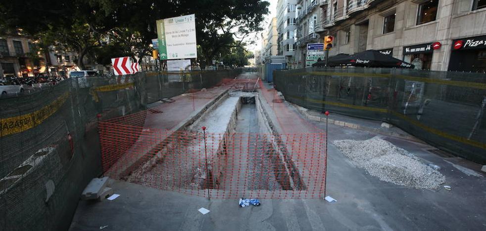 Las obras de la Alameda Principal ponen en alerta a las cofradías de Málaga
