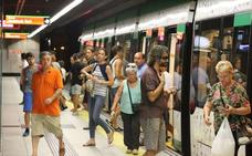 Los viajeros ponen nota al metro de Málaga y le conceden un 8,7