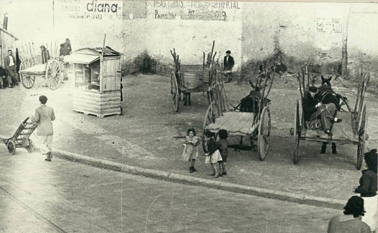 Fotos históricas de la calle Alcazabilla de Málaga capital