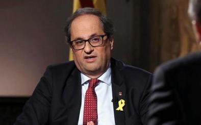 El nuevo ejecutivo de Torra amenaza con la vía unilateral