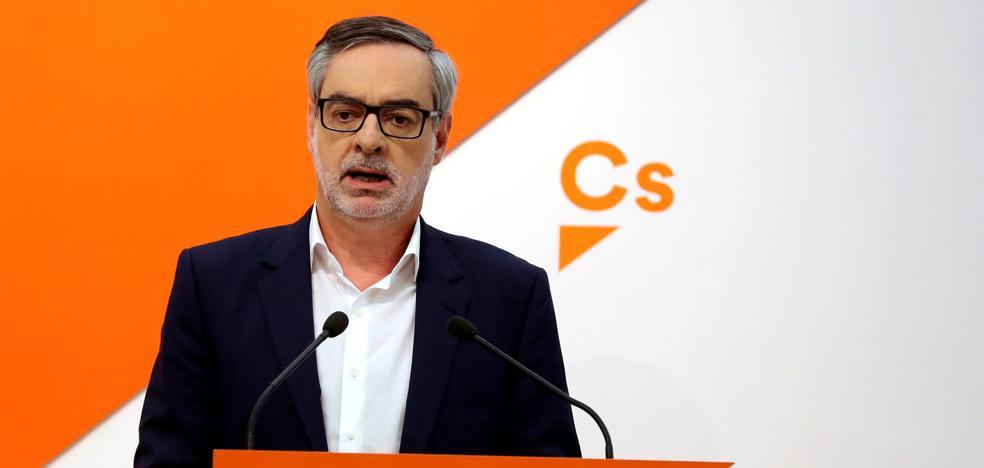 Ciudadanos insta a Sánchez a aplicar ya otro 155 en Cataluña