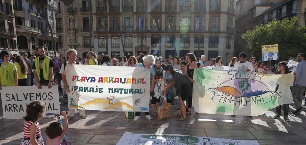 Unas 150 personas se concentran en contra de la construcción de La Academia en Arraijanal