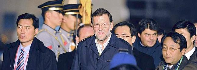 Rajoy niega que sea un fracaso no lograr la mayor�a absoluta