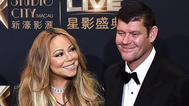 Mariah Carey, comprometida con el magnate australiano James Packer