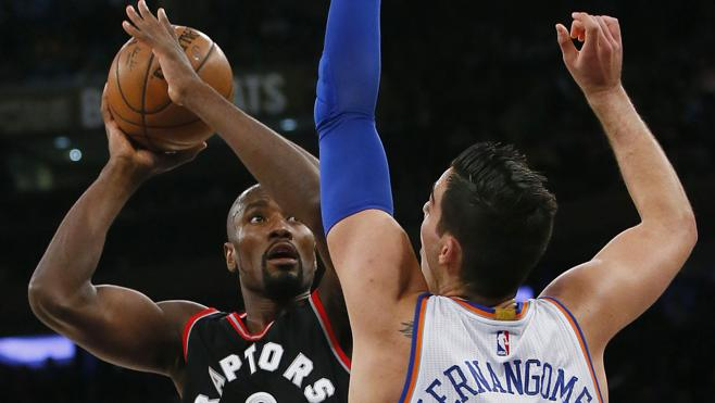 Derrota de los Knicks ante los Raptors pese al doble-doble de Willy