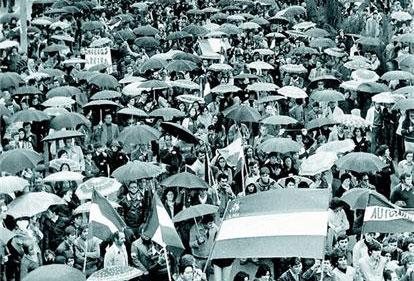 Manifestación del 4 de diciembre de 1977