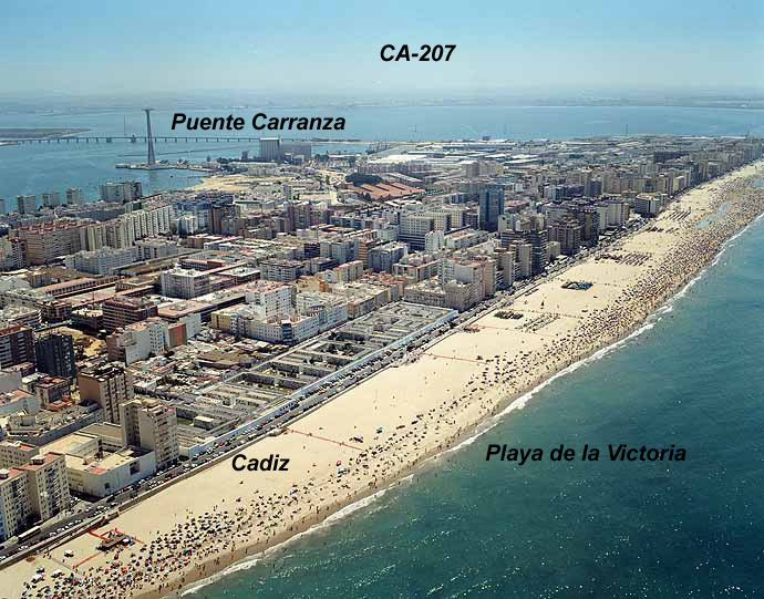 bcd15fdbca Playa de La Victoria, Cádiz | diariosur.es