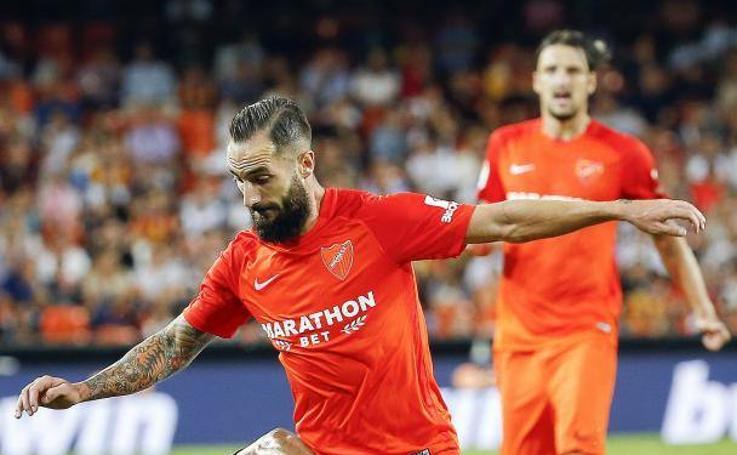 El partido Valencia-Málaga, en fotos