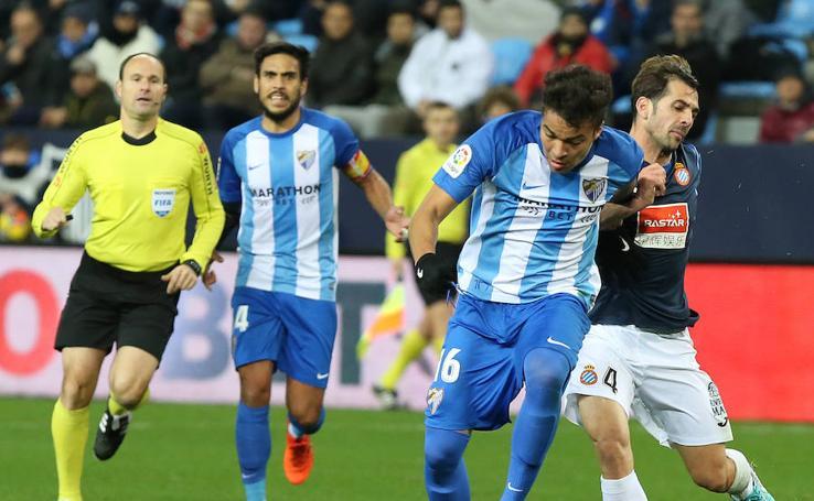 Las mejores imágenes del Málaga-Espanyol