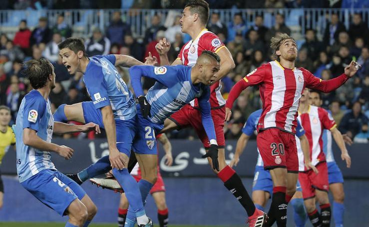 Así fue el Málaga-Girona