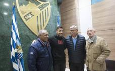 Samu: «Quiero transmitir la ilusión que traigo para salvar al Málaga como sea»