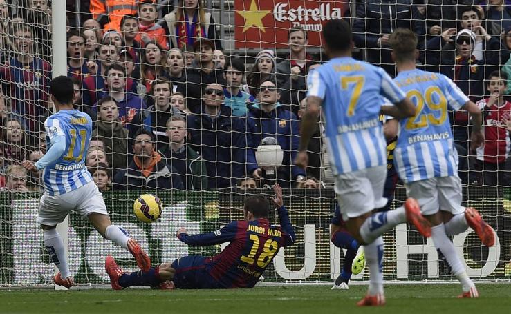 Los diez años del Málaga en Primera División, en fotos