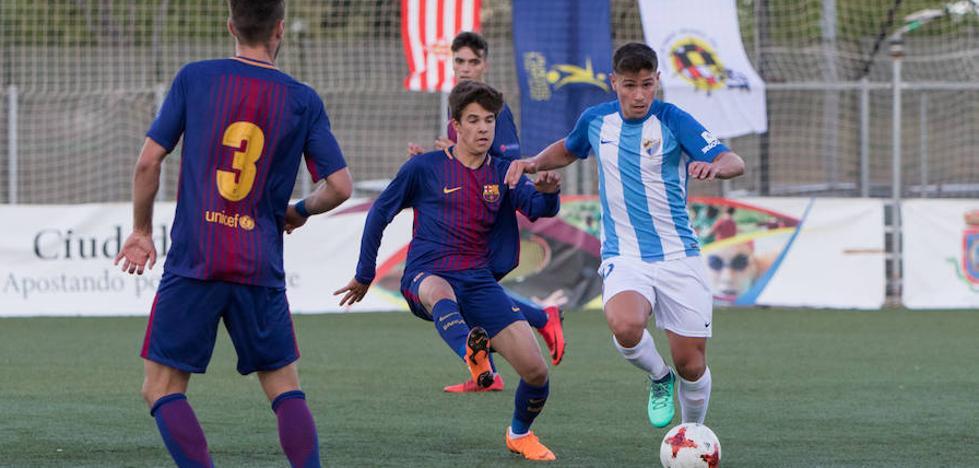 El Barcelona tritura al Málaga en la Copa de Campeones