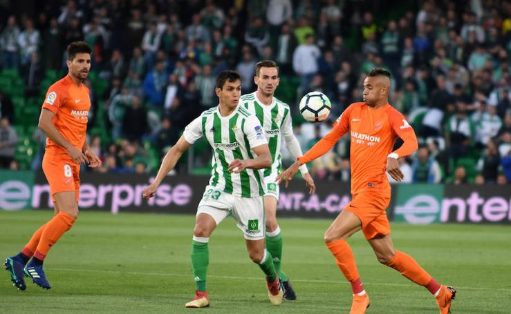 El Betis-Málaga, en fotos