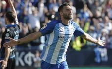 Keko, Iturra y Borja Bastón, novedades en la convocatoria del Málaga