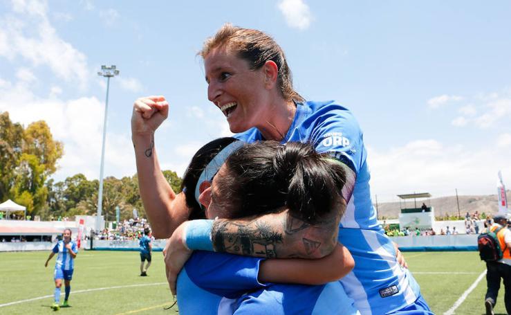 El Málaga Femenino consigue el ascenso ante el Femarguín