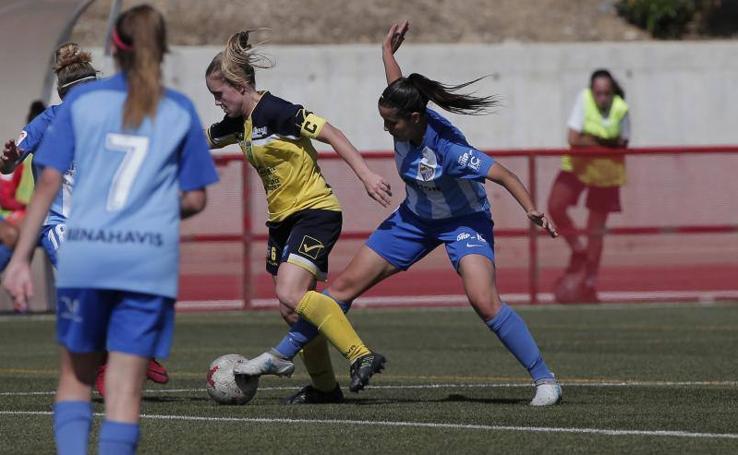 Victoria del Málaga CF ante el Spa de Alicante