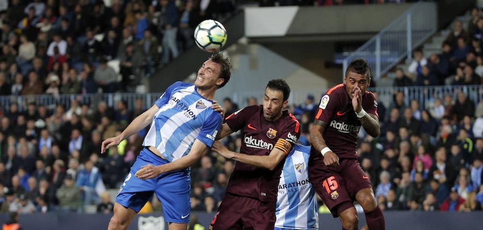 El Málaga, dispuesto a no 'regalar' a ningún futbolista tras consumar el descenso