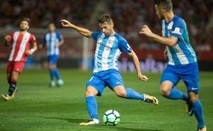 El Málaga anuncia que Jony se marcha al Alavés