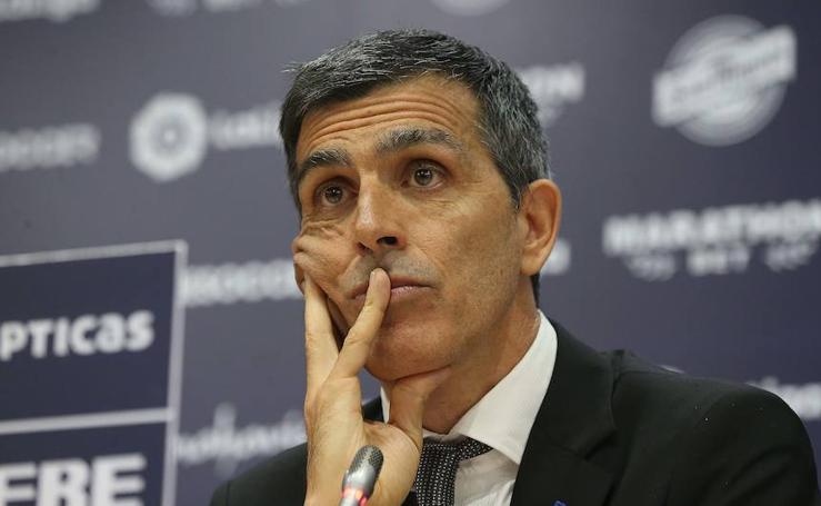 Así ha sido la presentación de Juan Ramón Muñiz