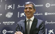 Muñiz toma el mando del Málaga y pide «humildad y mucho trabajo»