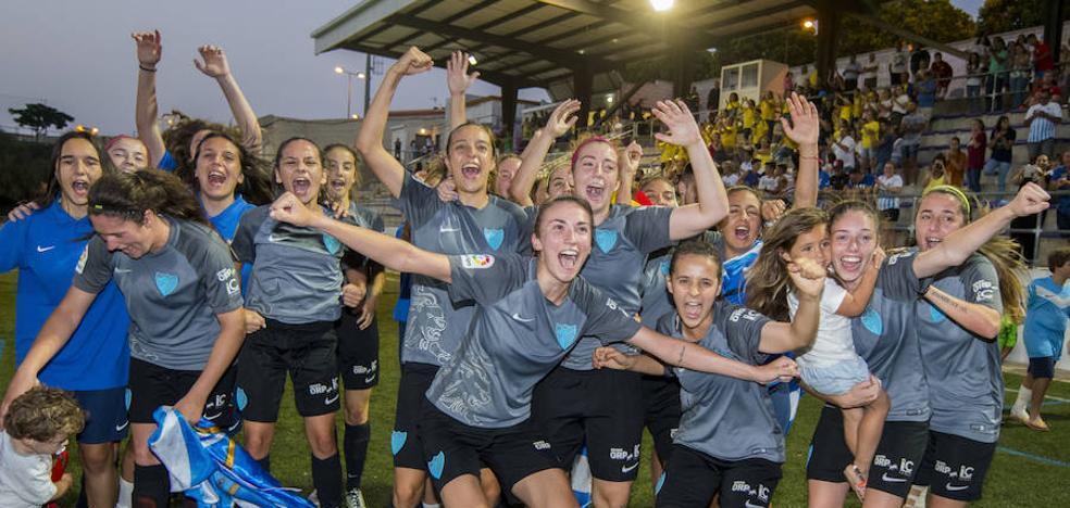 El filial del Málaga femenino, a Segunda División
